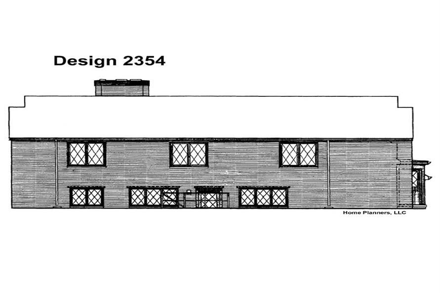 House Plan #137-1797