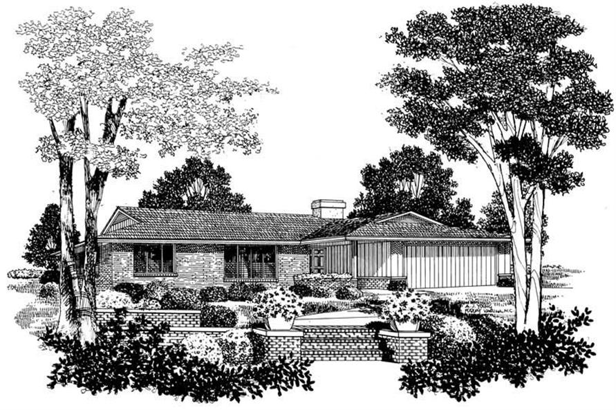 Main image for house plan # 17431