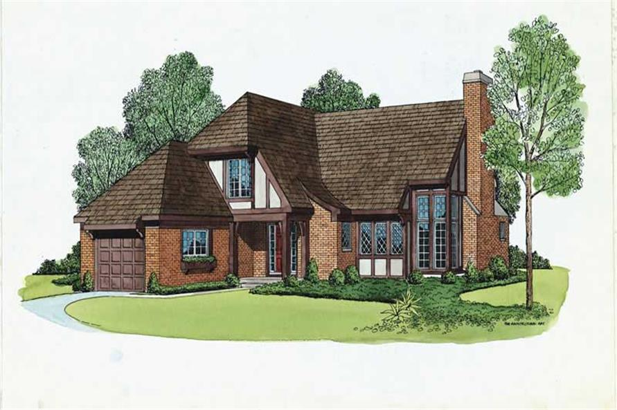 Main image for house plan # 17456