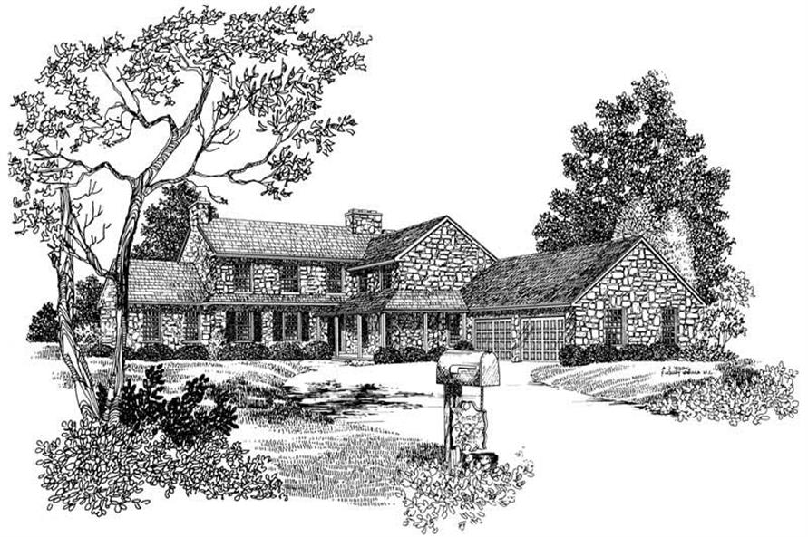 Main image for house plan # 17468