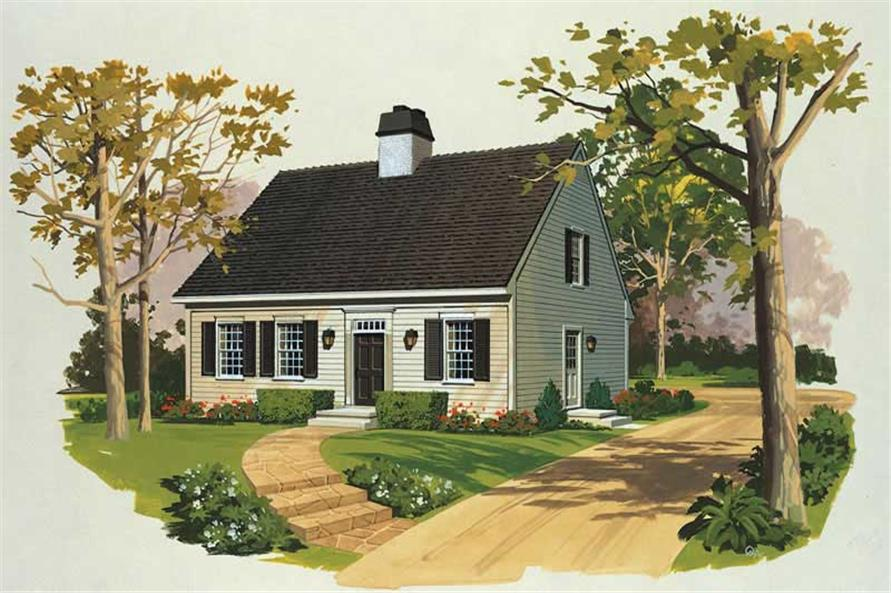 Main image for house plan # 17538