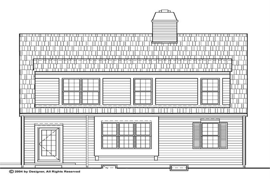 House Plan #137-1808