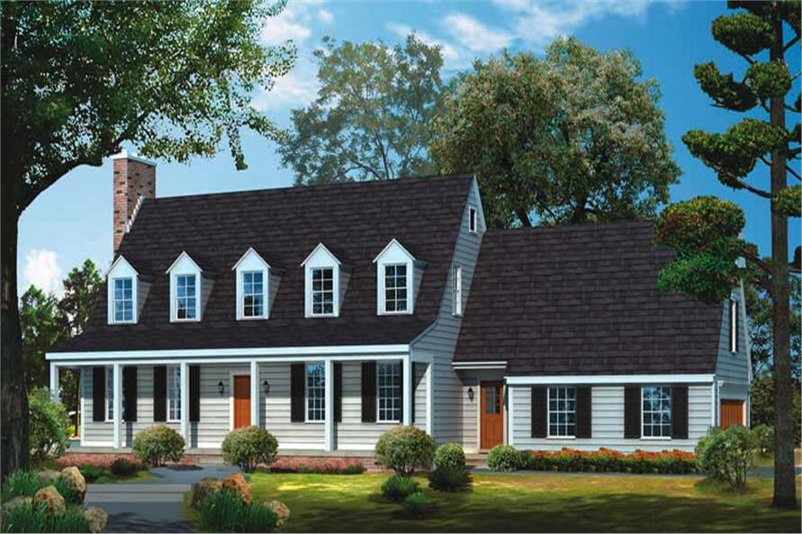 Main image for house plan # 17527
