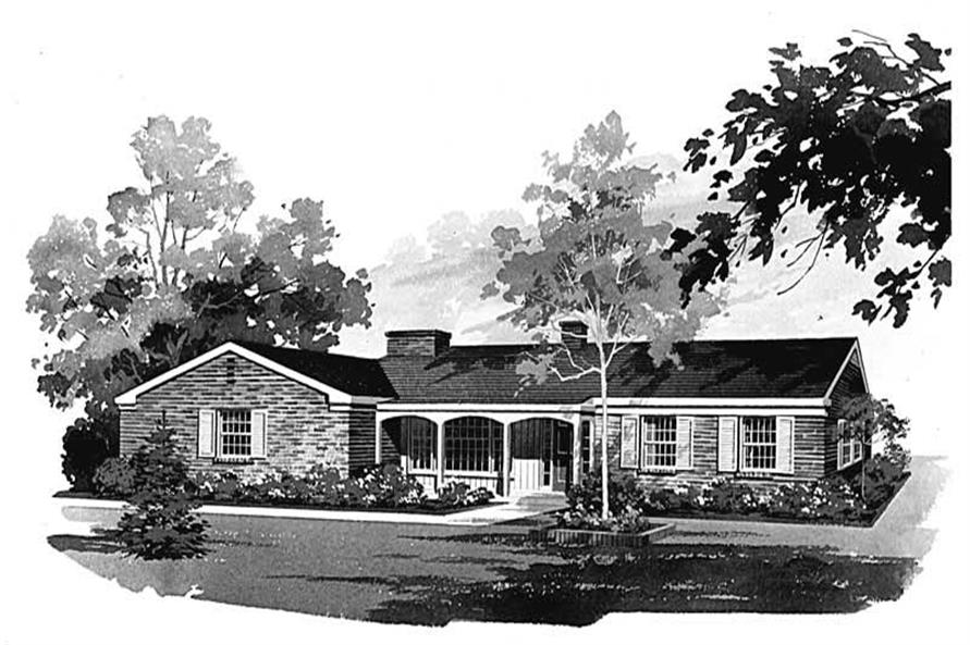 Main image for house plan # 17256