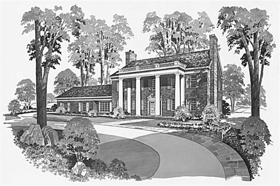 Main image for house plan # 17417