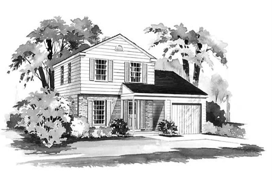 Main image for house plan # 17257