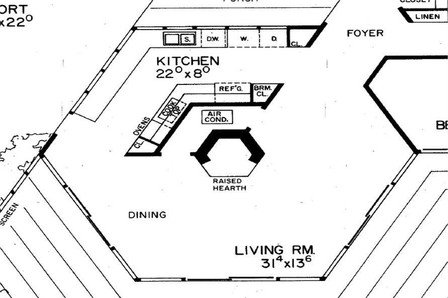 137-1826: Home Interior Photograph-Kitchen