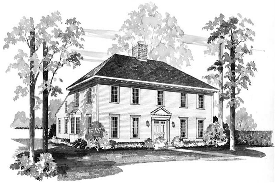 Main image for house plan # 17522
