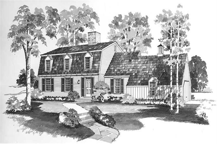 Main image for house plan # 17328