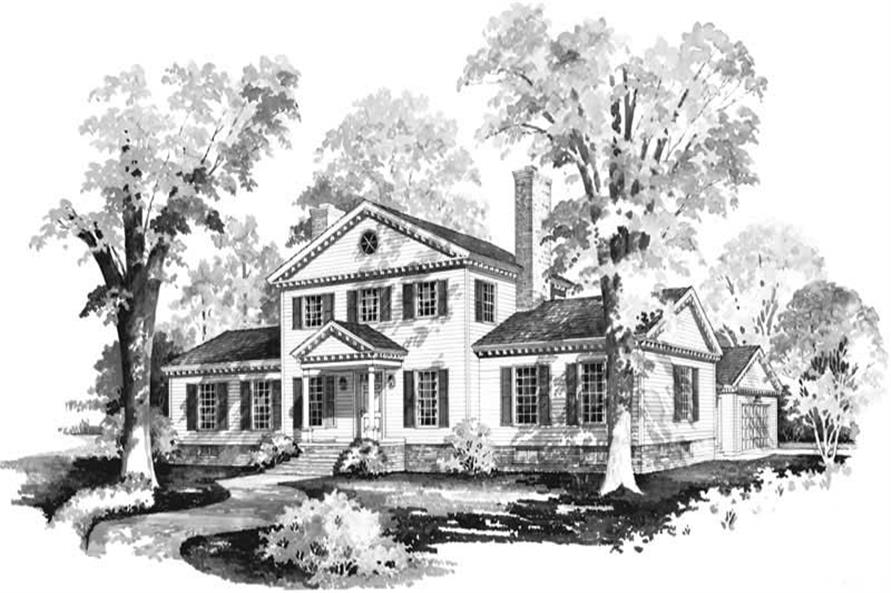 Main image for house plan # 17588