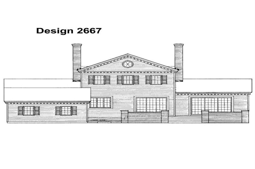 House Plan #137-1836