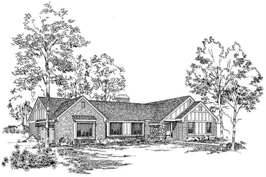 Main image for house plan # 17482