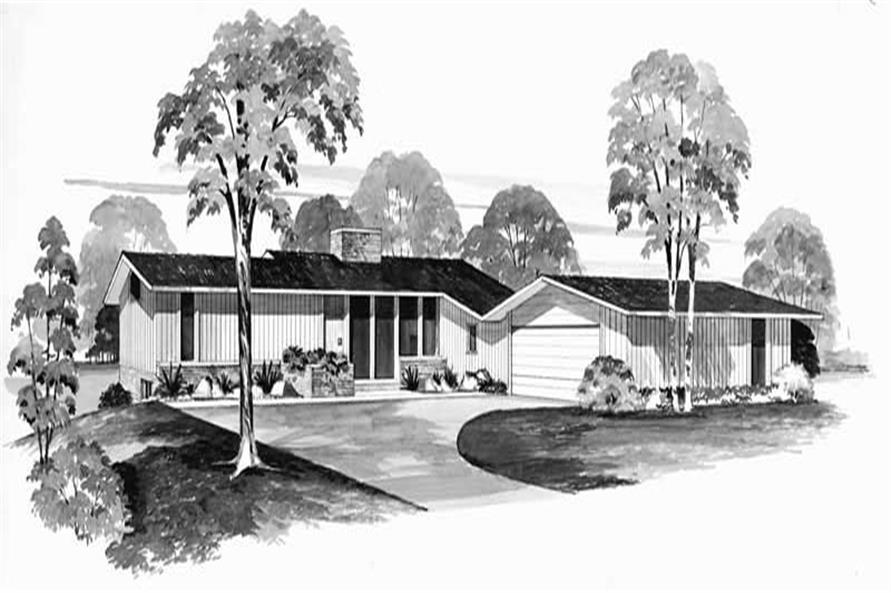Main image for house plan # 17384