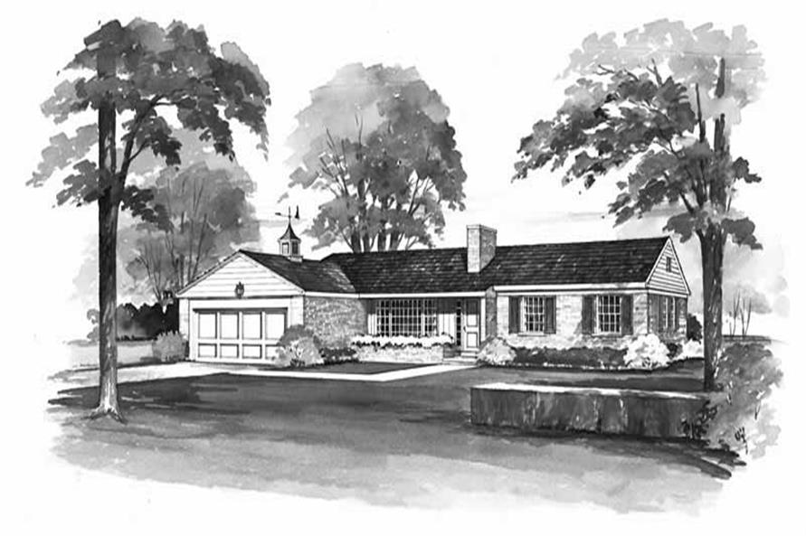 Main image for house plan # 17253