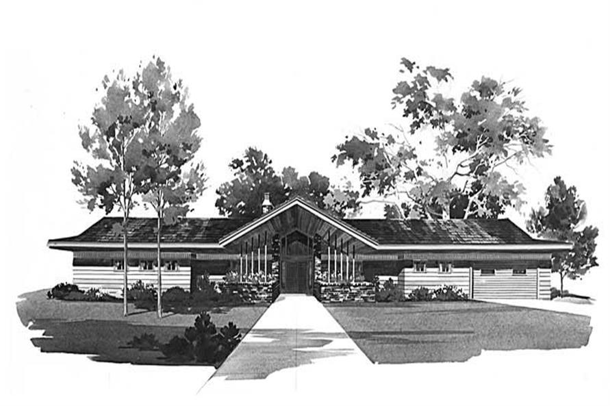 Main image for house plan # 17420
