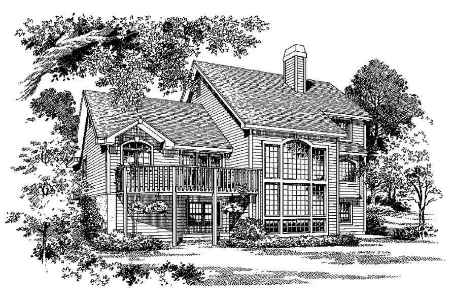 138-1034: Home Plan Rendering
