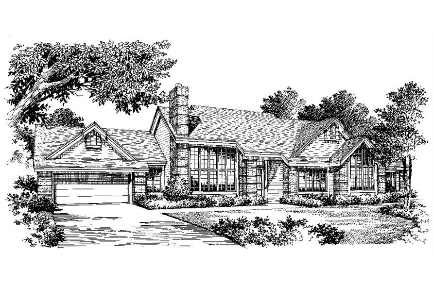 138-1043: Home Plan Rendering