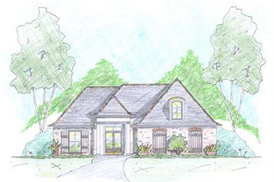 Main image for Traditional homeplans # 18334