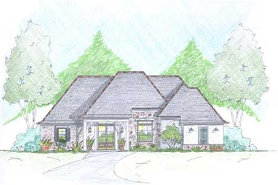 Main image for Traditional houseplans # 18352