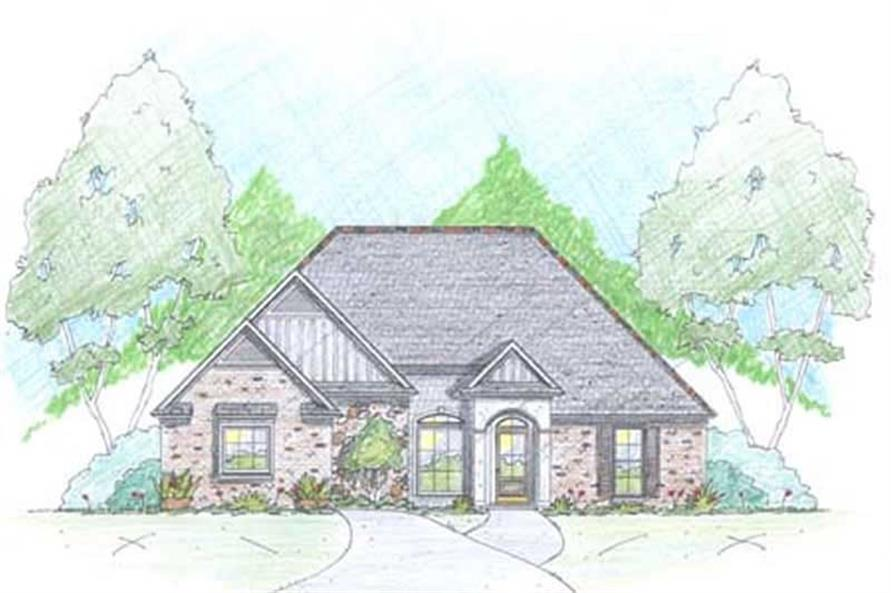 Main image for Traditional Homeplan # 18339