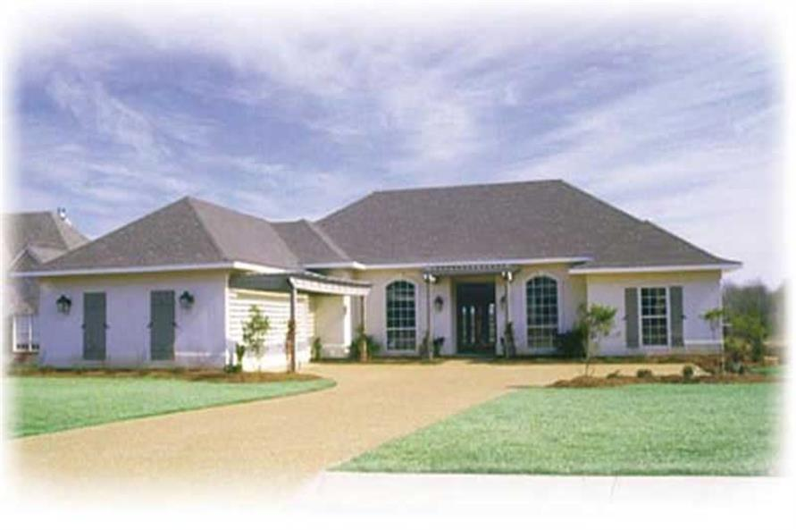 Main image for house plan # 7955