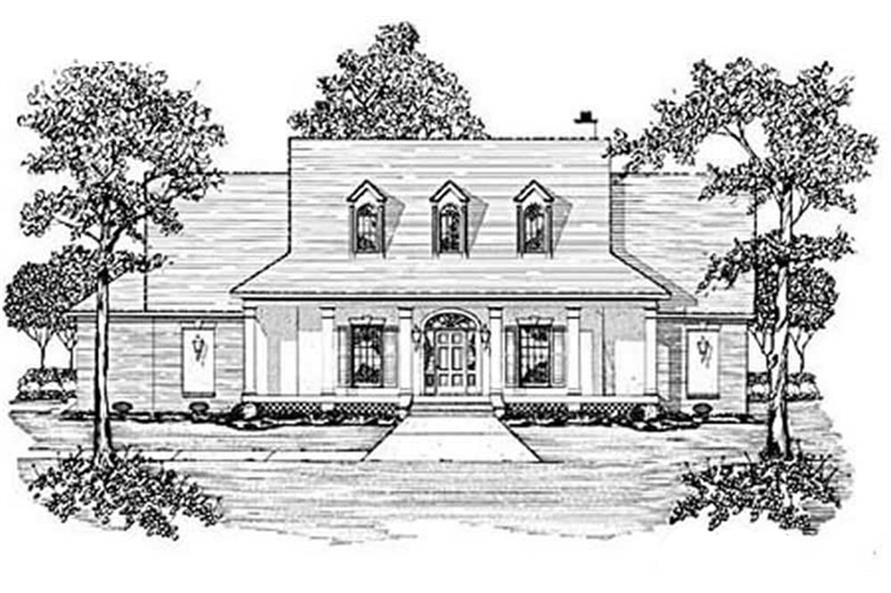 Main image for house plan # 7956