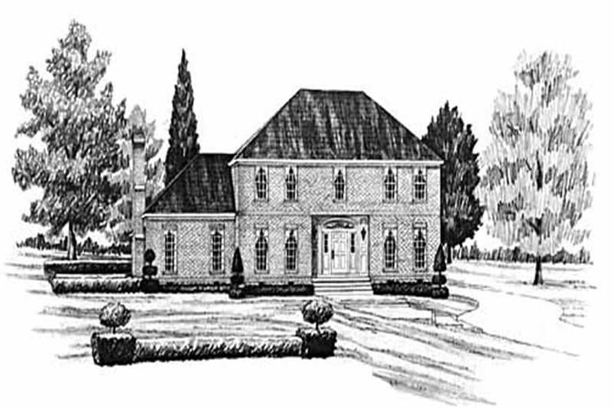 Main image for house plan # 7953