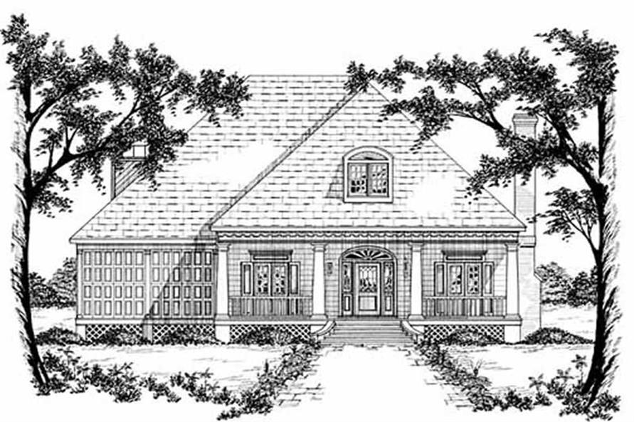 Main image for house plan # 7939