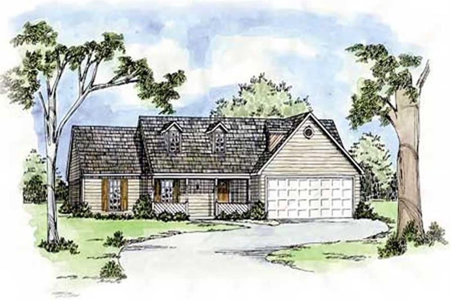 Main image for house plan # 8052
