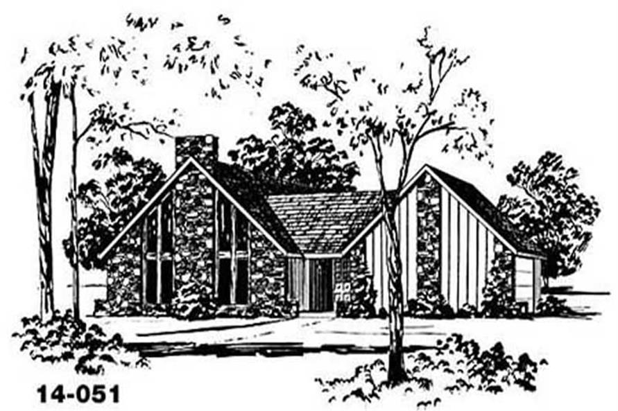 Main image for house plan # 8046