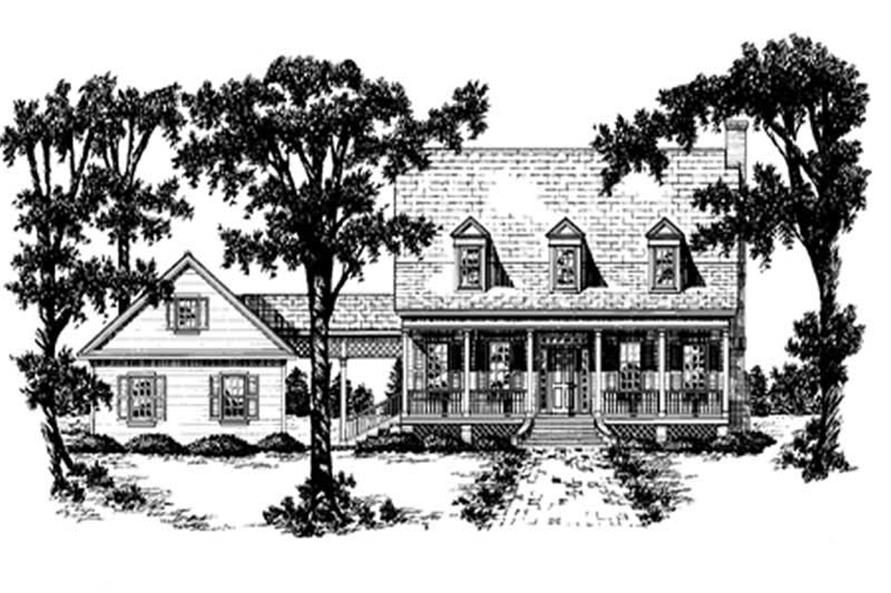 Main image for house plan # 7958