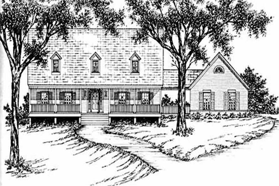 Main image for house plan # 7949