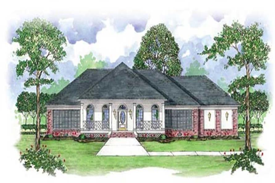 Main image for house plan # 7924