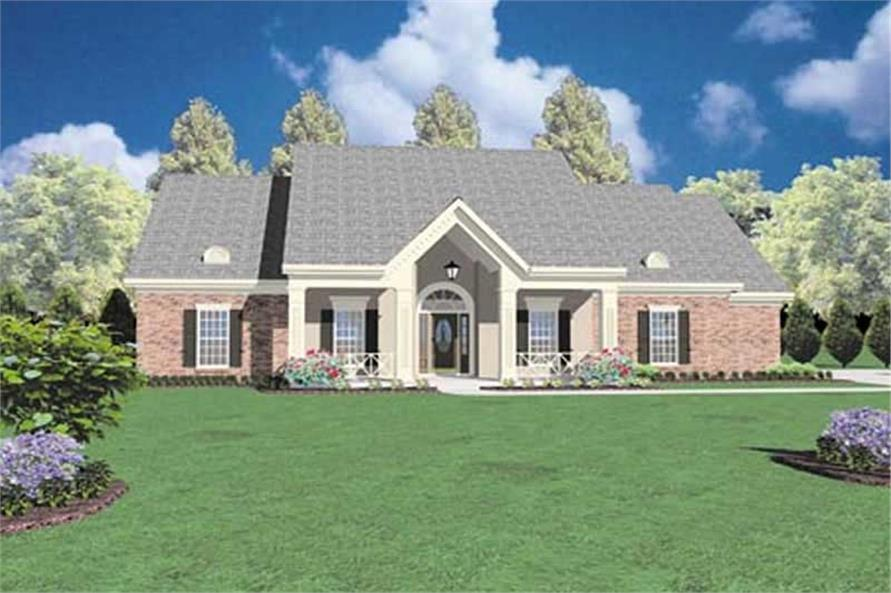 Main image for house plan # 7965