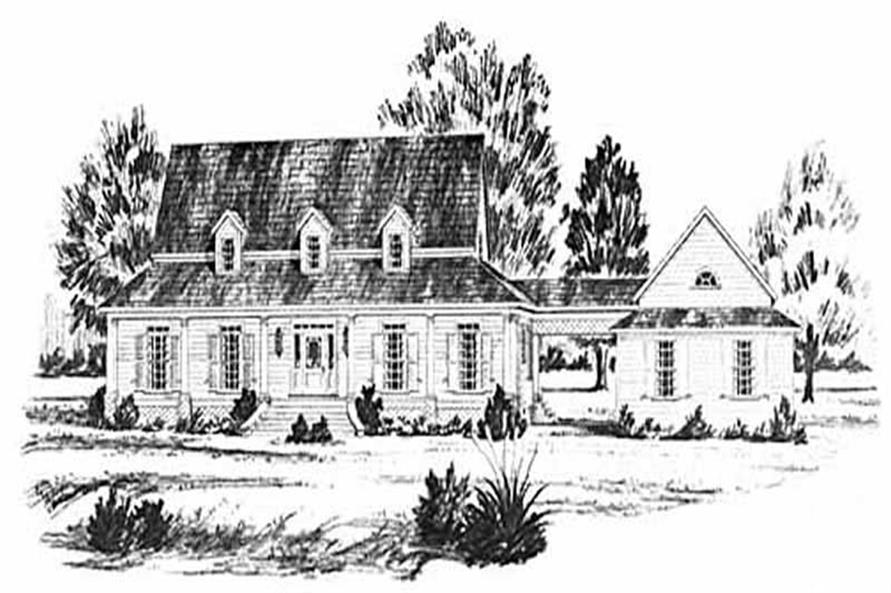 Main image for house plan # 7960