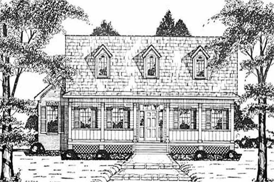 Main image for house plan # 7957
