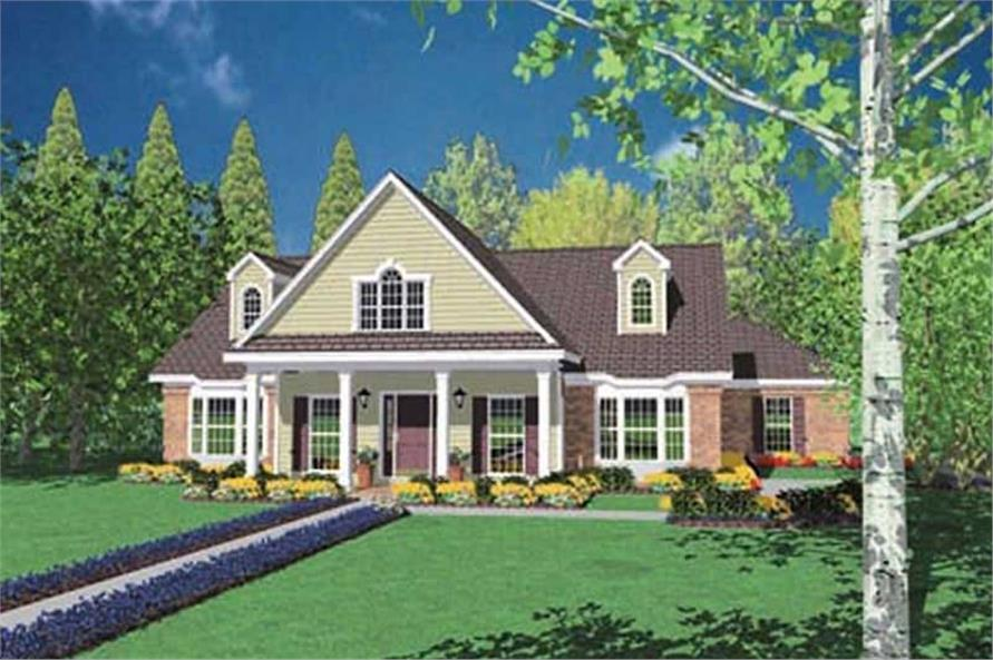 Main image for house plan # 7947