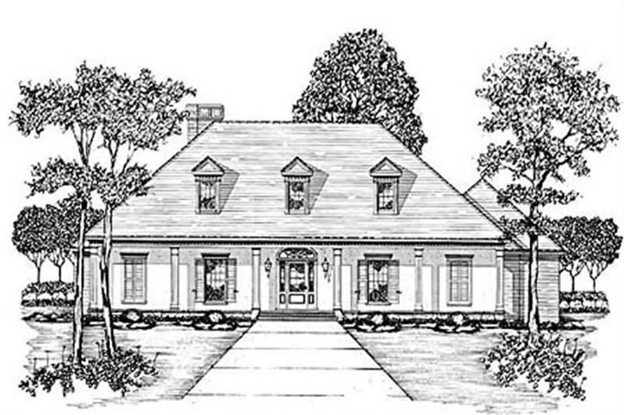 Main image for house plan # 7935