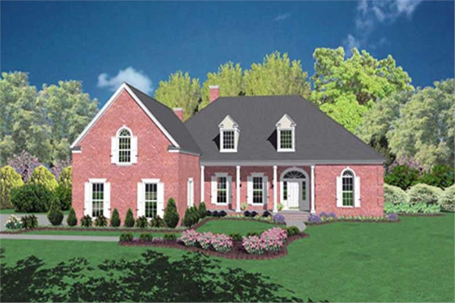 Main image for house plan # 7900