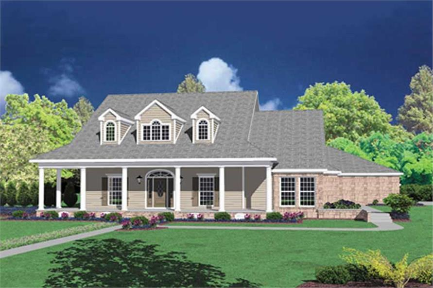 Main image for house plan # 7893