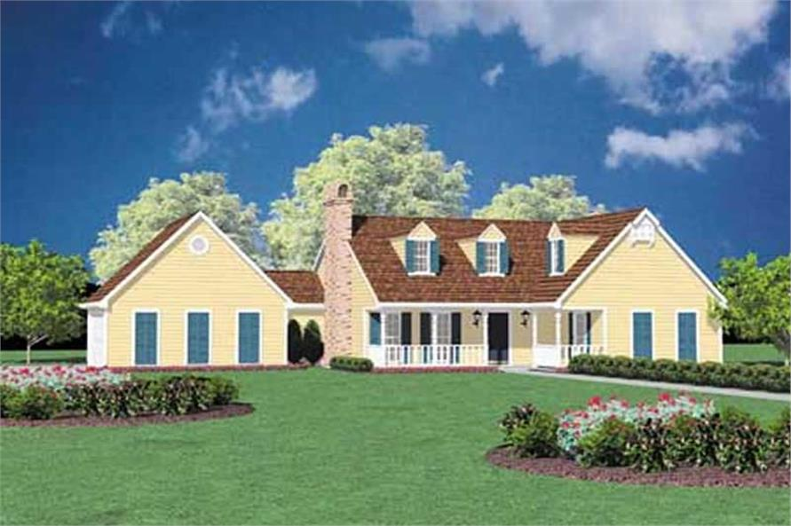 Main image for house plan # 8034