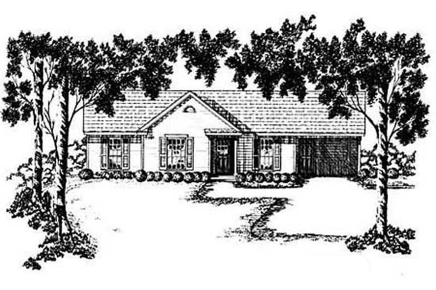 Main image for house plan # 8014