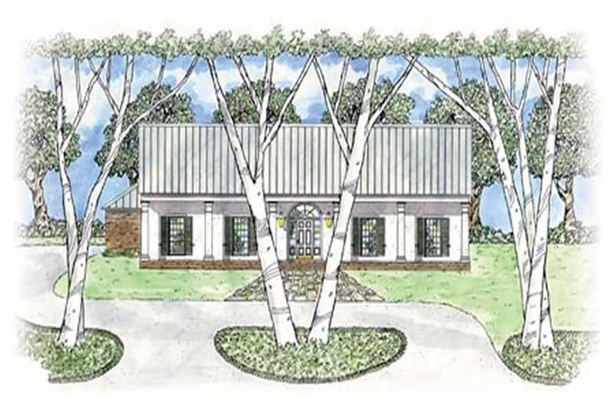 Main image for house plan # 8001