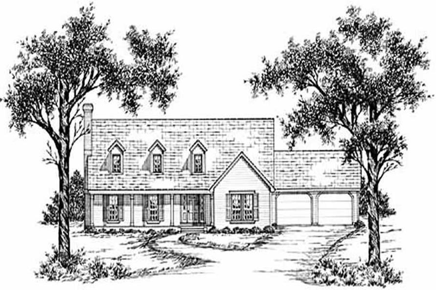 Main image for house plan # 7976