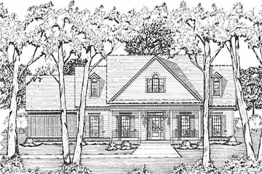 Main image for house plan # 7988