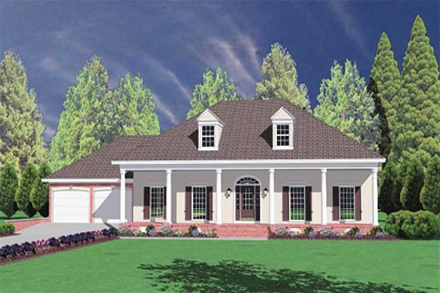 Main image for house plan # 7984