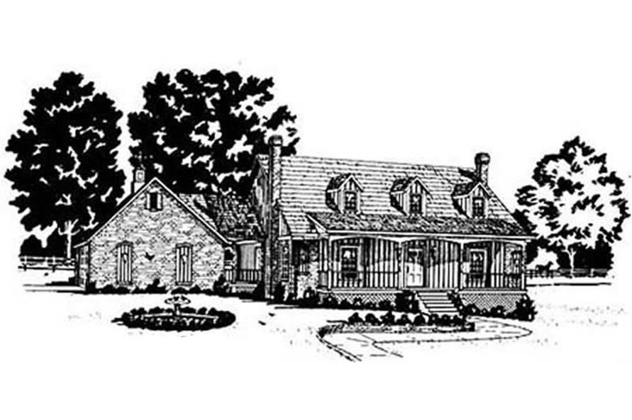 Main image for house plan # 7983