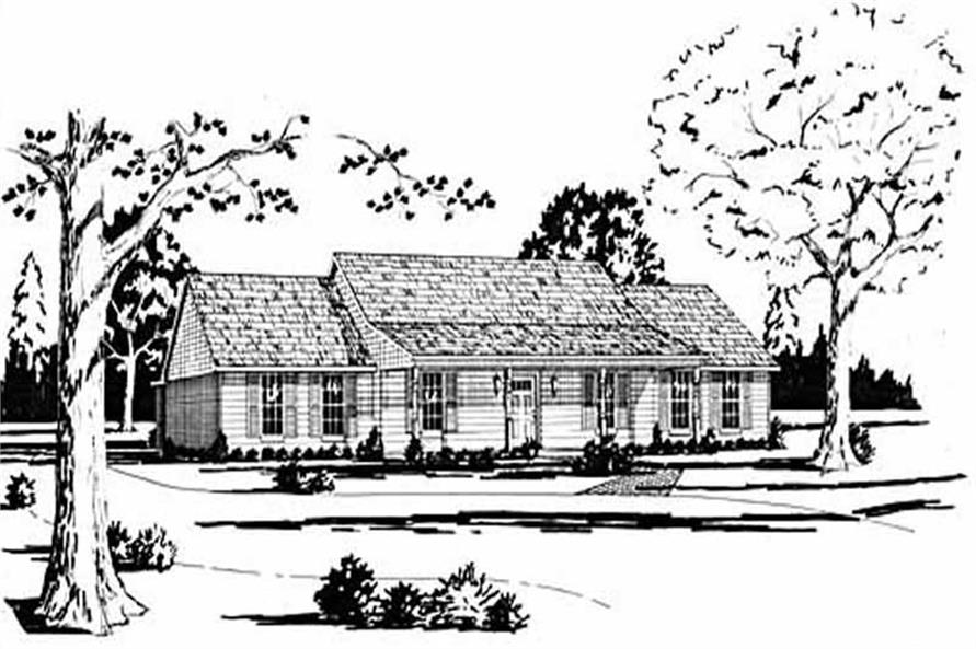 Main image for house plan # 7978