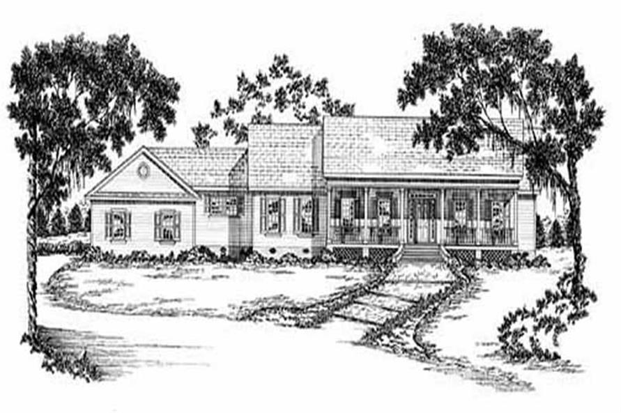 Main image for house plan # 7944