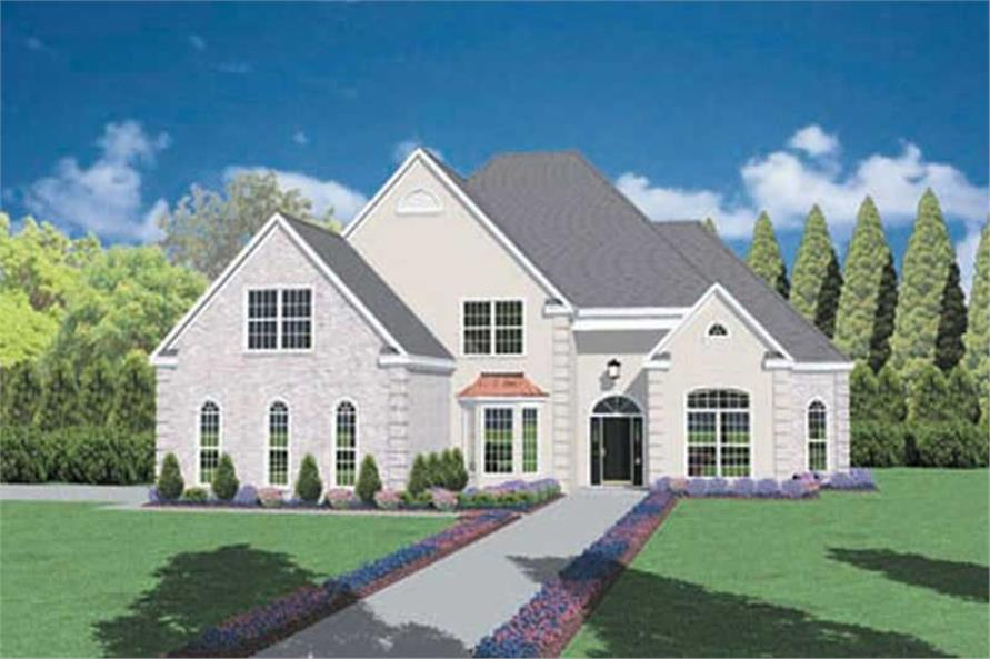 Main image for house plan # 7913